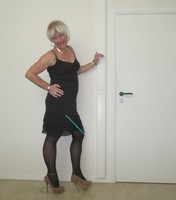 Robe noir Claudia Strater 11