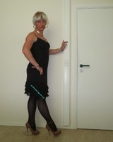 Robe noir Claudia Strater 12
