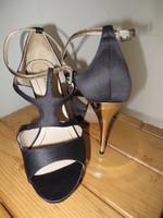 Sandales noir Solo Soprani P 40 T 12,5cm 2