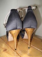 Sandales noir Solo Soprani P 40 T 12,5cm 1