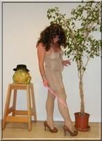 robe beige habille 5