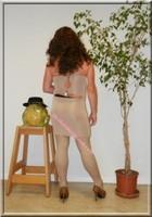 robe beige habille 12