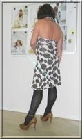 robe Lola Liza marron blanche 1