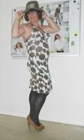 robe Lola Liza marron blanche 16