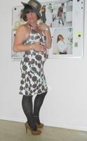 robe Lola Liza marron blanche 14
