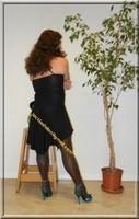 robe noir LAULAU Paris 8
