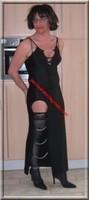 longue robe a fente chaine 43