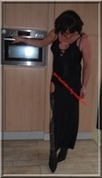 longue robe a fente chaine 45