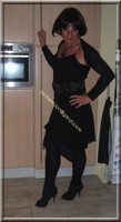 robe noir froufrou 4
