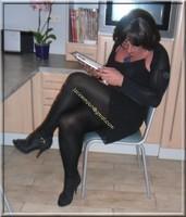 robe noir froufrou 9