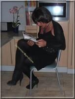 robe noir froufrou 7