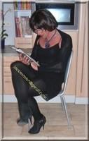 robe noir froufrou 14