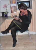 robe noir froufrou 10