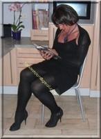 robe noir froufrou 11