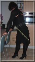 robe noir froufrou 17