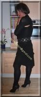 robe noir froufrou 19