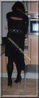 robe noir froufrou 15