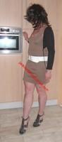 robe marron clair 6