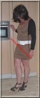 robe marron clair 7