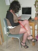 robe marron clair 11