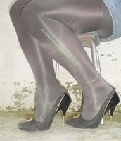 minijupe jeans blouse rose 12