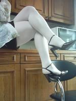 chaussures next violet mauves laque 10 cm collant blanc minijupe marron  5 [800x600]