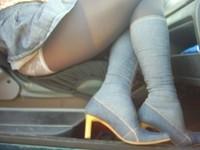 bottes jeans jupette bleu jeans2