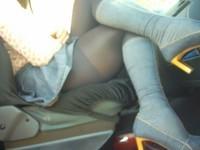 bottes jeans jupette bleu jeans4