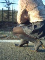 bottes jeans jupette bleu jeans7