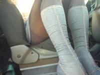 bottes jeans jupette bleu jeans8