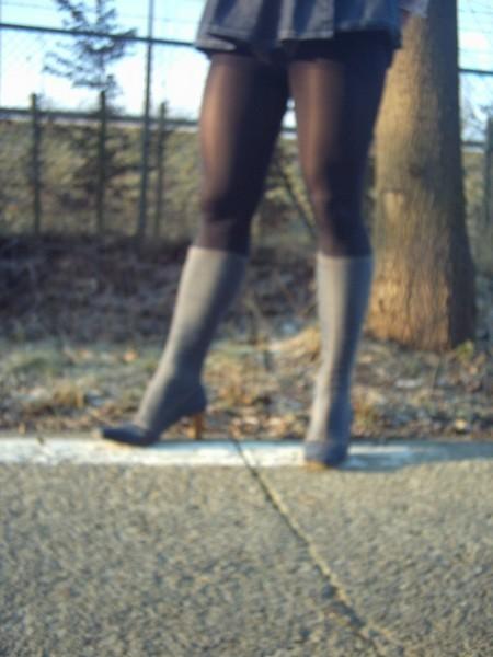bottes jeans jupette bleu jeans6