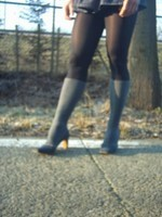 bottes jeans jupette bleu jeans18