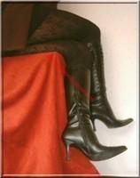 jupe noir collant dessin 16