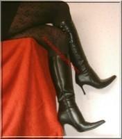 jupe noir collant dessin 14