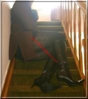 jupe noir collant dessin 17
