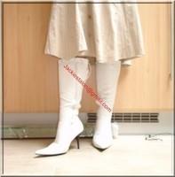 longue jupe beige velours 6
