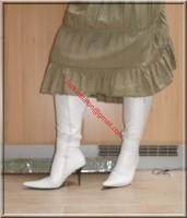 longue jupe beige velours 11