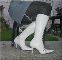 minijupe jeans pull blanc 2