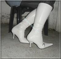 minijupe jeans pull blanc 9