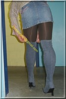 minijupe jeans 7