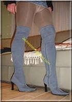 minijupe jeans guepiere noir 1
