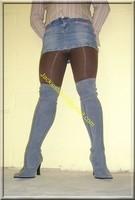 minijupe jeans 11