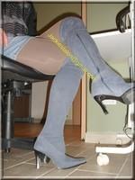 minijupe jeans guepiere noir 8