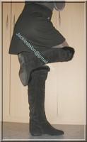 minijupe noir blouse grise 12