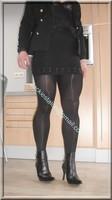 jupe noir guepiere noire 2