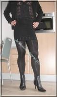 jupe noir guepiere noire 3