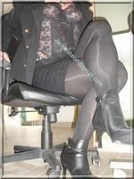 jupe noir guepiere noire 4