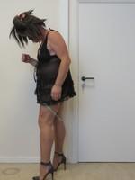 Nuisette noir transparente 2