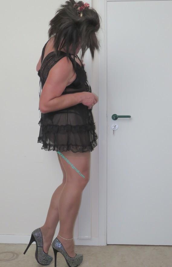 Nuisette noir transparente 1