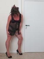 Nuisette noir transparente 7